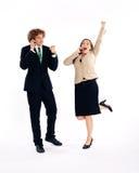 Executivos - sucesso Foto de Stock