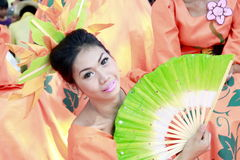 Executor cultural Foto de Stock