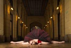 Executor da bailarina na cidade Foto de Stock