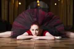 Executor da bailarina na cidade Fotografia de Stock