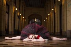 Executor da bailarina na cidade Imagem de Stock Royalty Free