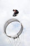 Executor da roda do espaço Imagem de Stock