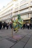 Executor da rua Imagens de Stock Royalty Free