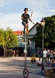 Executor da rua Fotografia de Stock