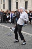 Executor da rua Foto de Stock Royalty Free