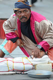 Executor da rua em Indonésia Imagem de Stock