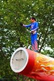 Executor de circo Imagens de Stock
