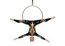 executor de circo da rendição 3D no branco Foto de Stock Royalty Free