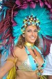 Executor do carnaval Imagens de Stock
