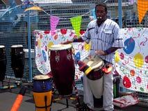 Executor do festival da reggae de Newport fotos de stock royalty free
