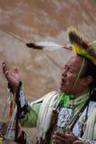 Executor do nativo americano fotografia de stock royalty free