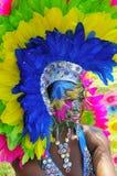 Executor pintado da face Imagem de Stock Royalty Free