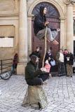Executores da rua Foto de Stock
