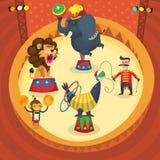 Executores de circo Foto de Stock Royalty Free