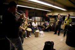 Executores do metro Imagens de Stock Royalty Free