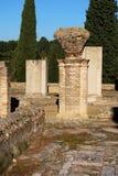 Exedra Gebäude, Italica, Spanien. lizenzfreie stockfotografie