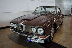 Exekutivauto Alfa Romeo 2600 Sprint Tipo 106, 1962 Lizenzfreies Stockfoto