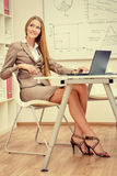 Exekutivfrau Lizenzfreie Stockbilder