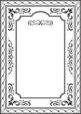 Exellent vintage frame Royalty Free Stock Image