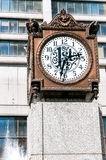Exelon Plaza clock, Chicago Stock Photos