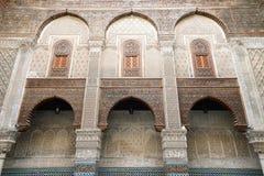 Exempel av marockansk arkitektur Royaltyfri Fotografi
