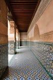 Exempel av marockansk arkitektur Royaltyfria Bilder