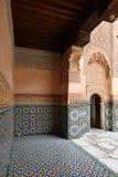 Exempel av marockansk arkitektur Arkivbilder