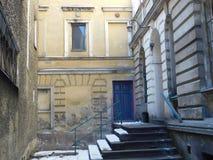 Exempel av ovanlig arkitektur Royaltyfria Foton