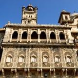 Exempel av rikt dekorerad indisk arkitektur Royaltyfri Fotografi