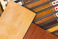 Exempel av wood texturer Royaltyfri Foto