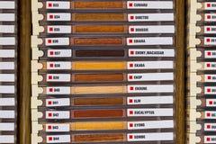 Exempel av wood texturer Royaltyfria Bilder