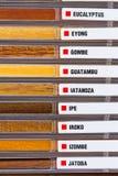 Exempel av wood texturer Royaltyfri Bild