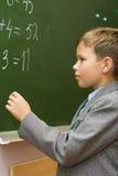exempelschoolboyen löser Arkivbilder