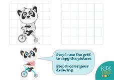 Exemplaar en kleurenbeeld vectorillustratie, oefening vector illustratie