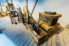 Exemplaren van oude machines Suzun, het gebied van Novosibirsk, Rusland Stock Foto