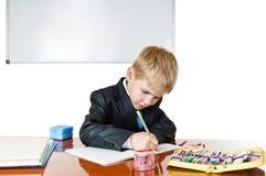 Exemplary boy Stock Images