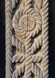 Exemplet av träskulptur Royaltyfria Bilder