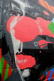 Exemplo colorido do talento em artistas da rua, quintilha jocosa, Irlanda, em outubro de 2014 Fotos de Stock Royalty Free