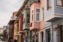 Exemplo da arquitetura tradicional turca proeminente fotos de stock