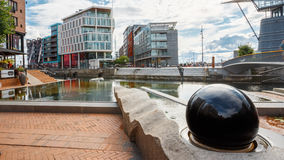 Exemplo típico da arquitetura escandinava Fotos de Stock