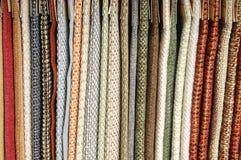 Exemplos do upholstery para a mobília Imagem de Stock