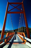 Exequiel Gonzales Bridge - Carretera Austral Royalty Free Stock Photo