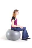 Exercício adolescente Fotografia de Stock