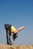 Exercício ao ar livre Foto de Stock Royalty Free