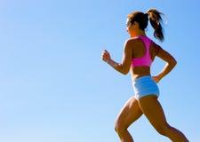 Exercício atlético da mulher Fotos de Stock Royalty Free