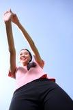 Exercício bonito da mulher Imagens de Stock