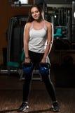 Exercício com chaleira Bell Imagem de Stock