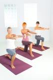 Exercício com dumbbells Imagens de Stock Royalty Free