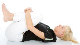 Exercício da ioga Fotografia de Stock Royalty Free