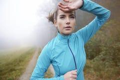 Exercício da manhã Foto de Stock Royalty Free